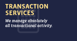 Transaction Services